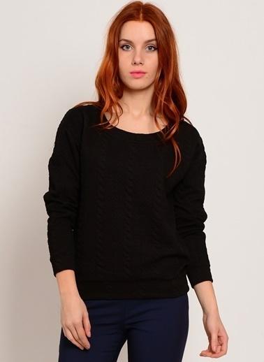 Vero Moda Vero Moda 10137803 Uzun Kol Kadın Sweatshirt Siyah